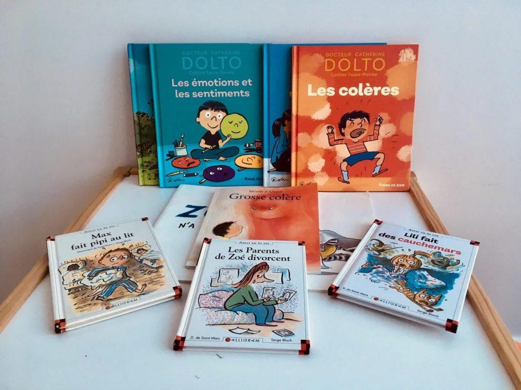 Les livres - outils précieux dans l'accompagnement des enfants